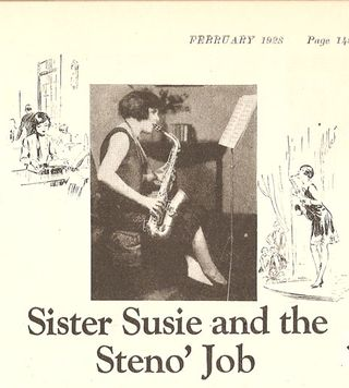 Susie and the Steno Job