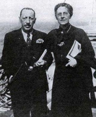 Stravinsky with Nadia Boulanger