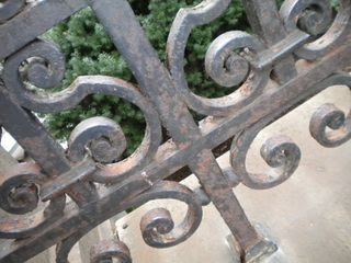 Ironwork at the Cooper Hewitt
