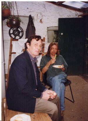 Violi & Stannard, Coleridge Cottage, Nether Stowey, early 90s (resized)