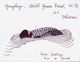 Sharon olds postcard