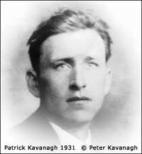 Patrick kavanagh in his youth