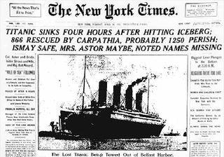 Titanic ny times