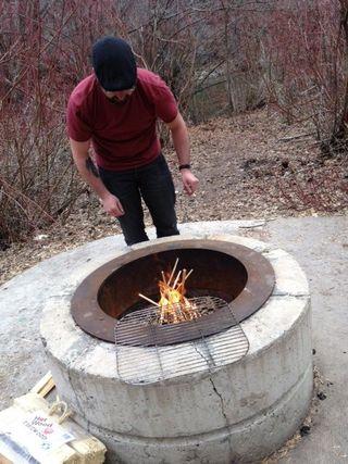Joseph firebuilding