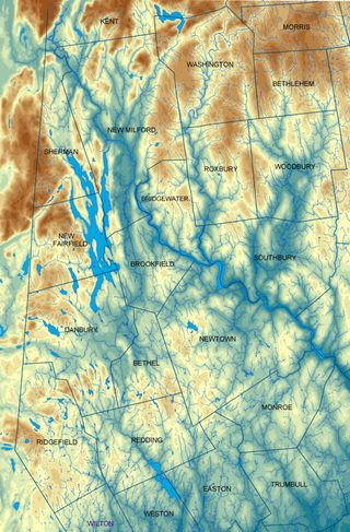 Housatonic River Topography