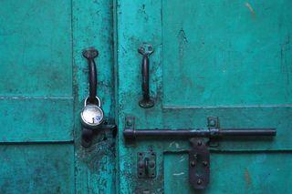 doorway in Nizumaddin