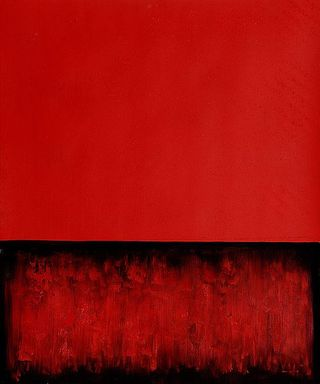 Mark-Rothko-Untitled-Painting-in-Red-and-Black-1955