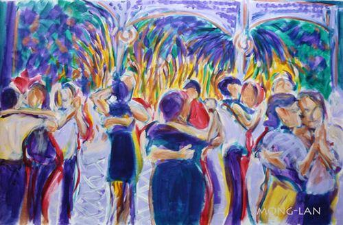 Mong-lan tango painting