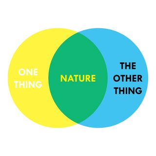 """""""You are one thing, but nature is one thing and the other thing, in the same moment."""" — Ralph Waldo Emerson"""