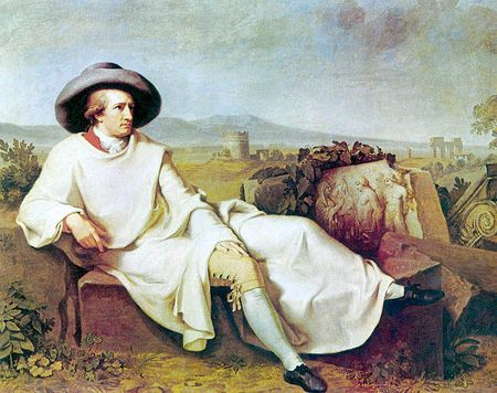 Goethe in the Campagne Tischbein wiki