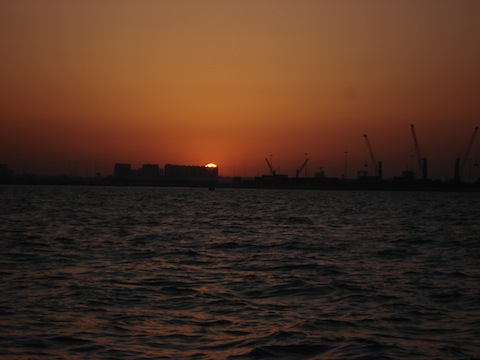 Doha dusk sailing in copy