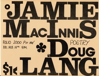 Jamie-doug flyer 1977 b
