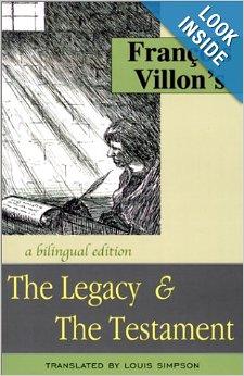 Francois Villon by Louis Simpson