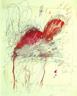0_Cy_Twombly_Leda_and_the_Swan_1963