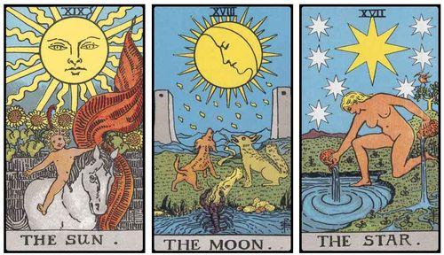 2014.02.05 Tarot Sun Moon Stars