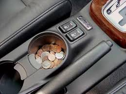 Coins in car