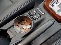 Coins in car