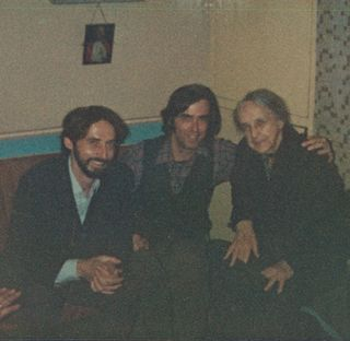 Terence & Jesse with  Auntie Moll (Niland), Ireland 1980