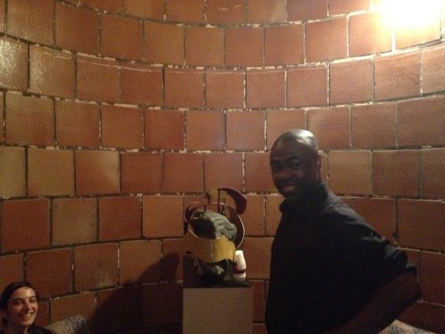 Ayesu Lartey in silo small version
