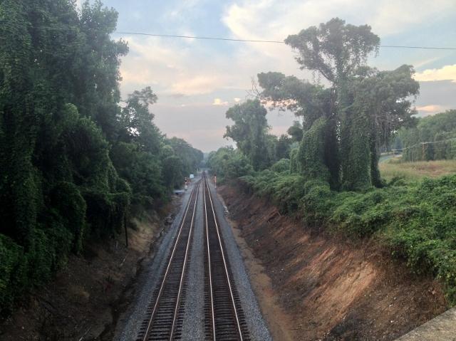 Train tracks small version