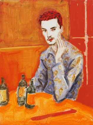 Elizabeth Peyton's Jake at MOMA, 1995