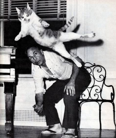 Balanchine with Cat