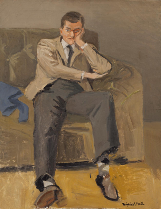 Ashbery by Fairfield Porter