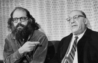 my visit with allen ginsberg and louis ginsberg by alan ziegler
