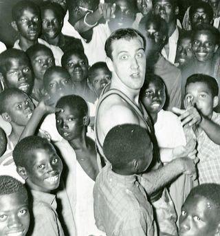 Tom in africa