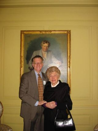 With Eleanor Roosevelt