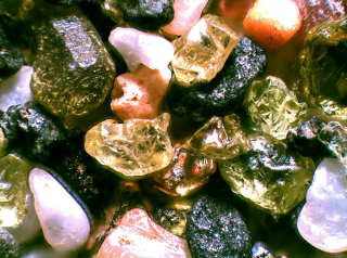 Microscopic sand