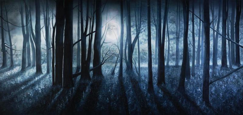 CORDOVA Gray-Full-Moon-Scenic-Backdrop