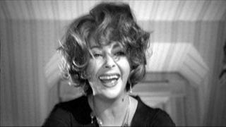 Liz Taylor as Virginia Woolf