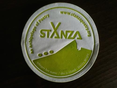 Stanza coaster