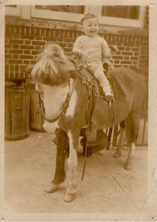 Alan on horse
