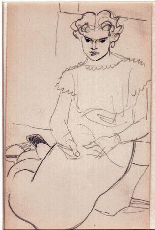 Juan Rose sketch