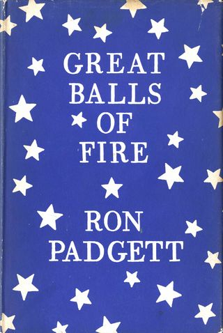 Cover -- Ron Padgett