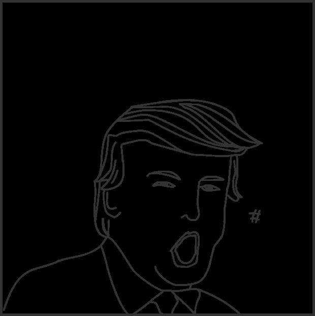 Emma Lazarus, Trump