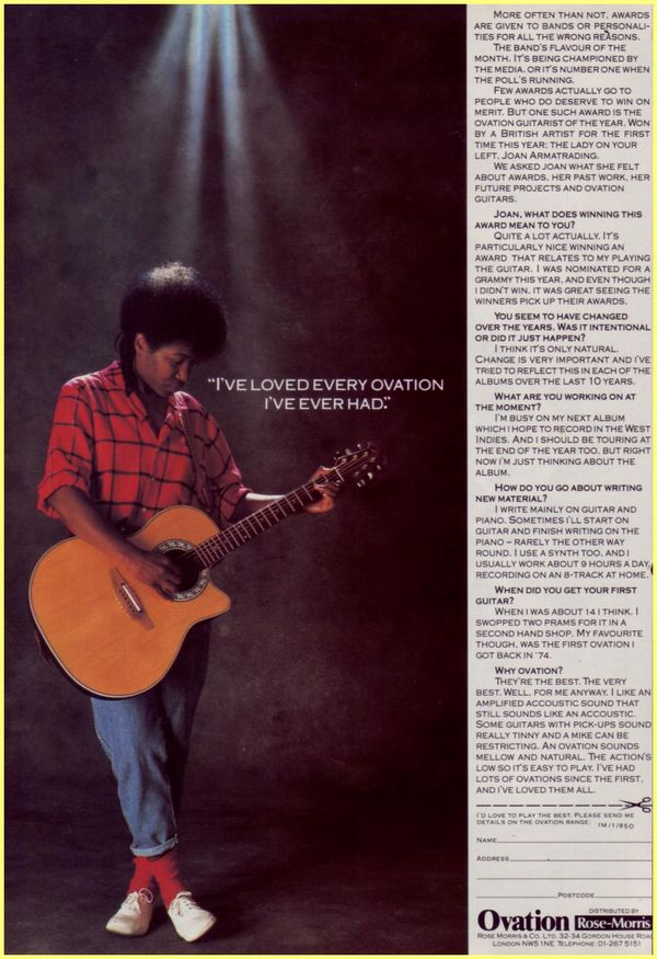 Joan Armatrading Quotes: The Weakness In Me: Notes On Joan Armatrading [by Daniel