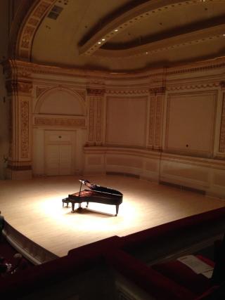 Carnegie Hall October 30 2015