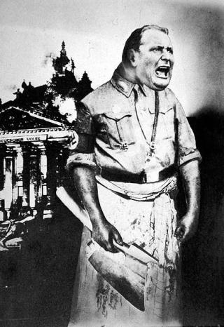 Heartfield-john-goering-boia-del-terzo-reich-1933