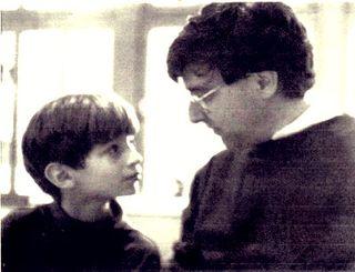 David Shapiro and son Daniel