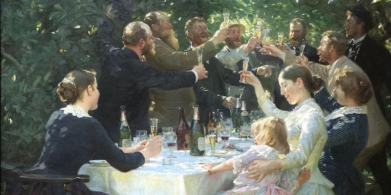 Hipp_hipp_hurra_Konstnärsfest_på_Skagen_-_Peder_Severin_Krøyer