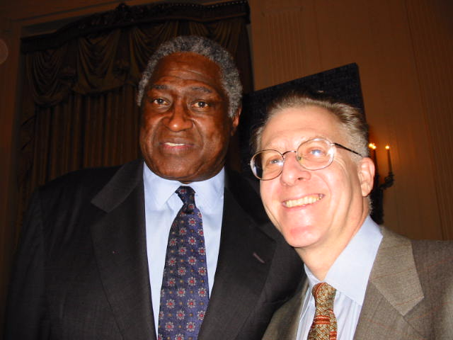 With Willis Reed