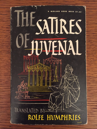 Juvenal book cover
