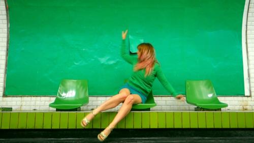Green-UneMinuteDeDanseParJour