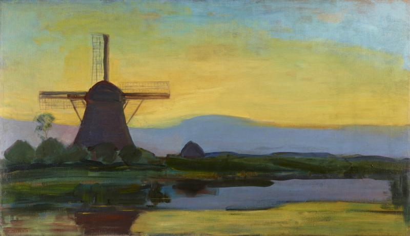 9-piet_mondrian_moulin_dans_le_crepuscule - copie