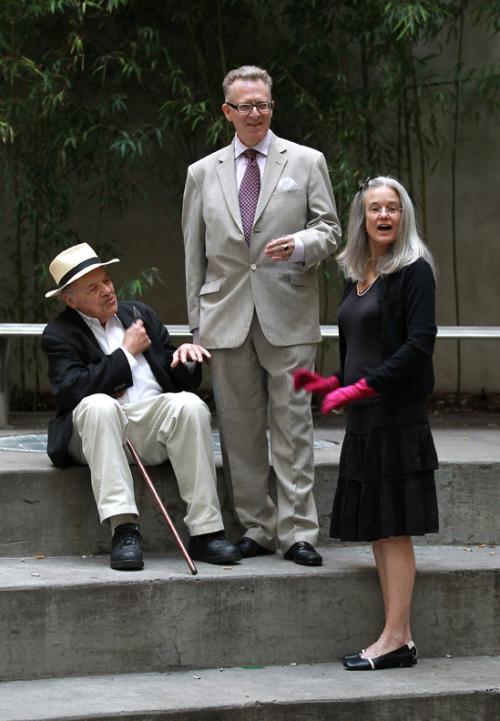 DL  Gerald Stern  Sharon Olds BAP 2010 hoto credit Lawrence Schwartzwald