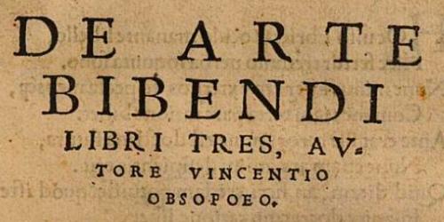 De Arte Bibendi 1536 cover