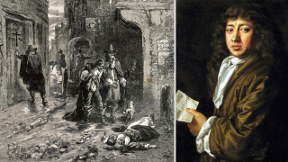 1665 Pepys plague-ravaged London
